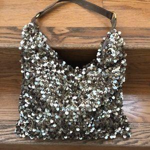 Handbags - Retro sequins evening shoulder bag